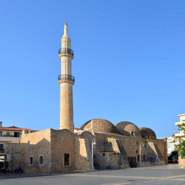 """Rethymno Mosque Neratzes"" stock image"