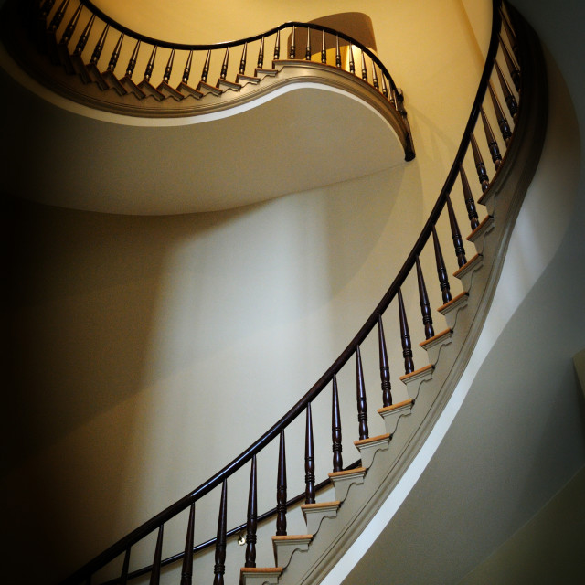 """""""Staircast in the Museum of History i"""" stock image"""
