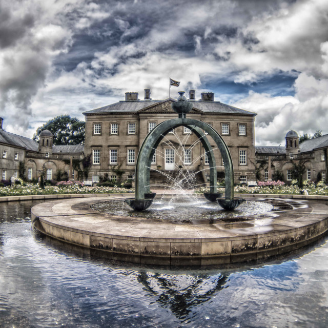 """Dumfries house"" stock image"