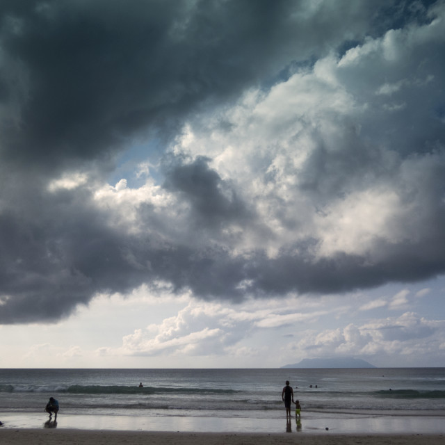 """Beach Seychelles"" stock image"