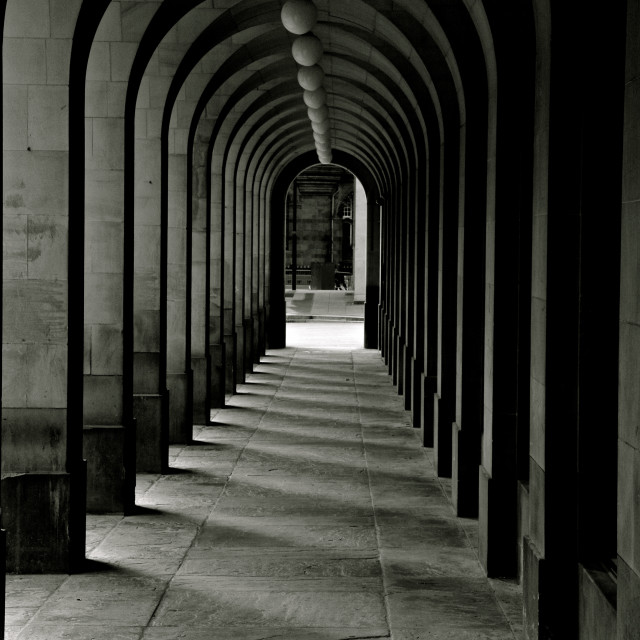 """Library archways"" stock image"