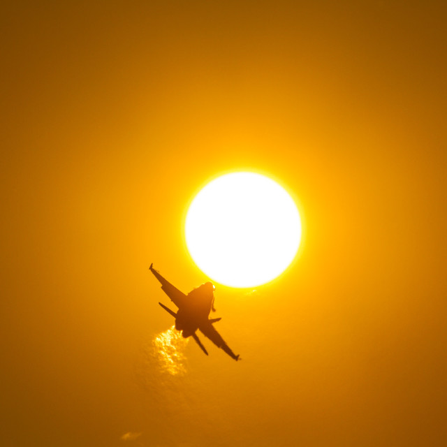 """Approaching the Sun"" stock image"