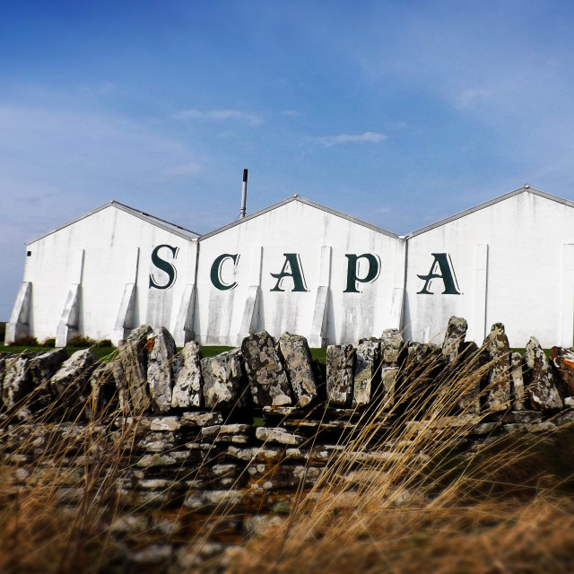"""Scapa Flow"" stock image"