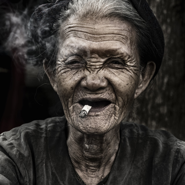 """Old mother"" stock image"