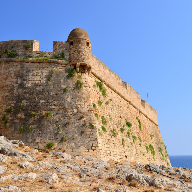 """Rethymno Fortezza fortress"" stock image"