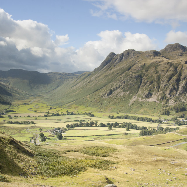 """""""The Central Fells"""" stock image"""