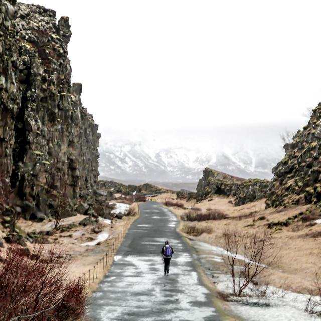 """No Man's Land - Iceland"" stock image"