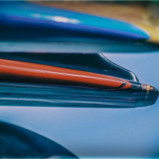 """Surfboard Art"" stock image"