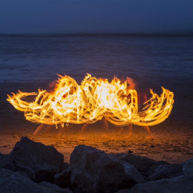 """Firestorm"" stock image"