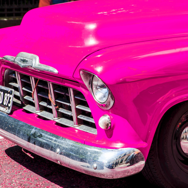 """Chevy pickup"" stock image"