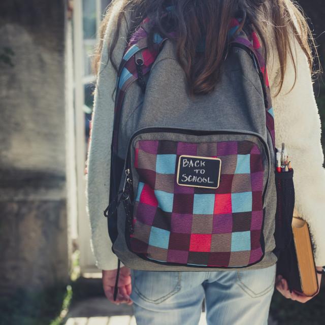 """Back to school"" stock image"