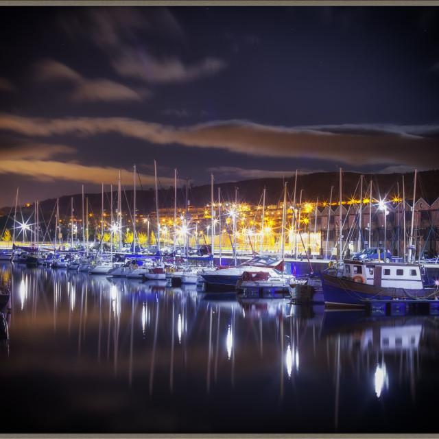 """James Watt Docks"" stock image"