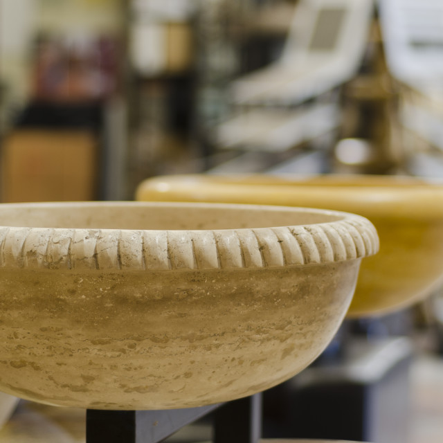 """""""Marble bowls"""" stock image"""