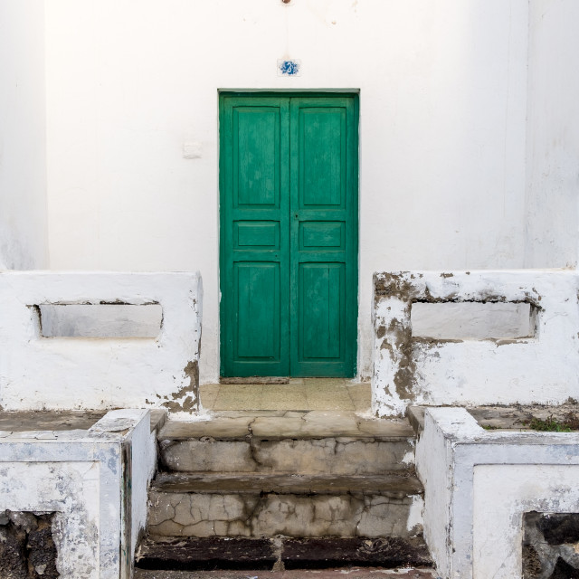 """Architecture detail in Haria in Lanzarote"" stock image"