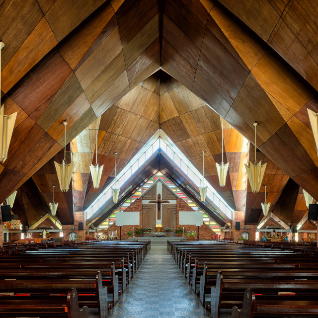 """Blessed Sacrament Church"" stock image"