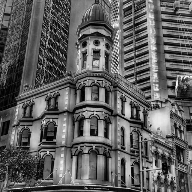 """sydney landmark building"" stock image"