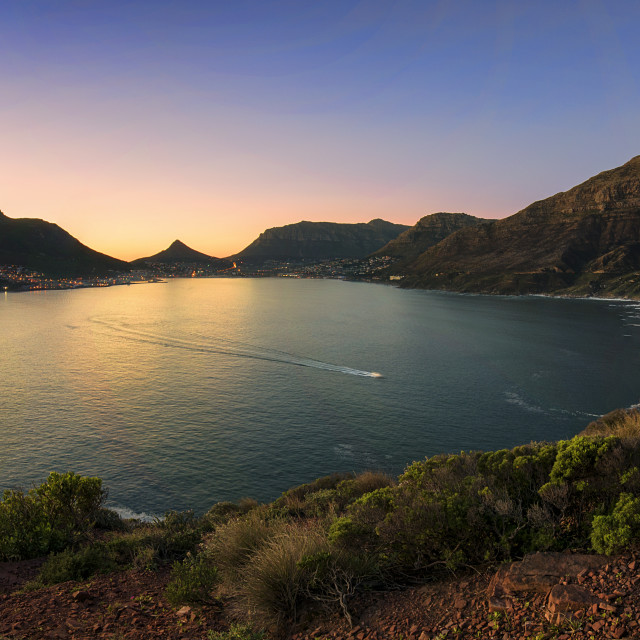 """Hout Bay"" stock image"