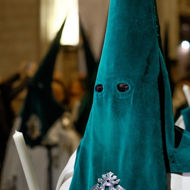 """Holy Week Procession During Semana Santa, Spain"" stock image"