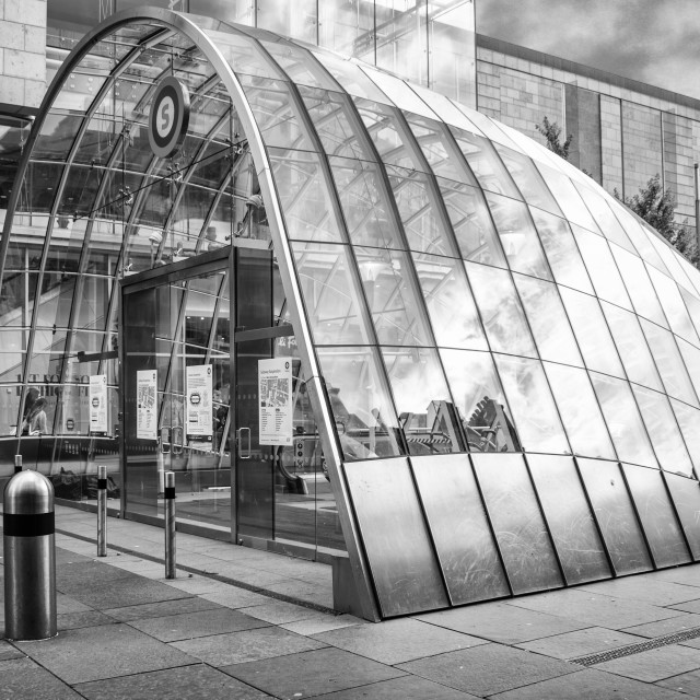 """Glasgow St Enochs Train station"" stock image"