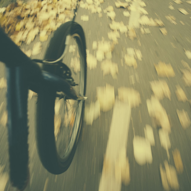 """""""Bicycle ride"""" stock image"""