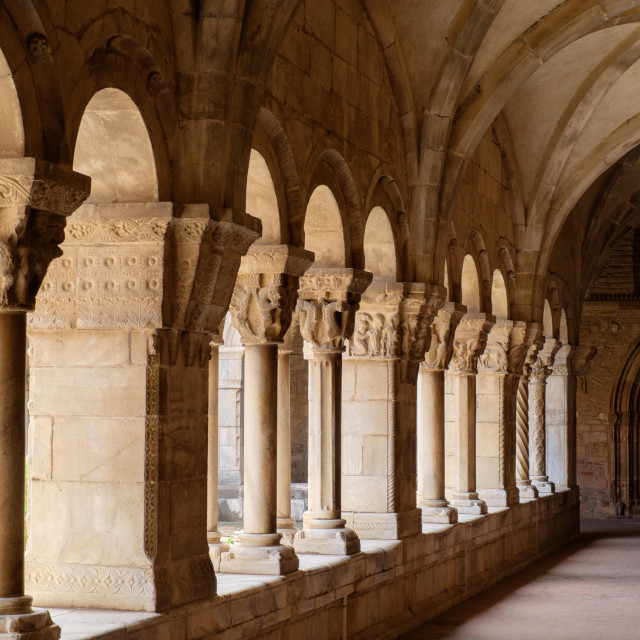 """Quiet Cloister"" stock image"