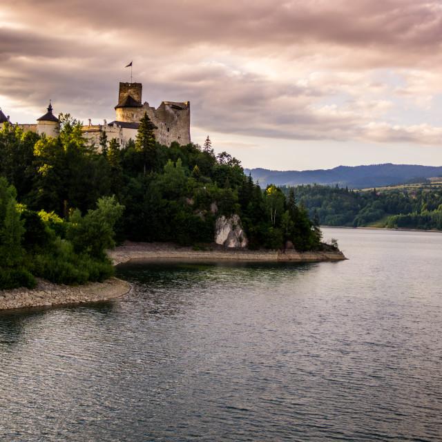 """Dunajec Castle in Niedzica"" stock image"