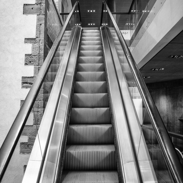 """Escalator"" stock image"
