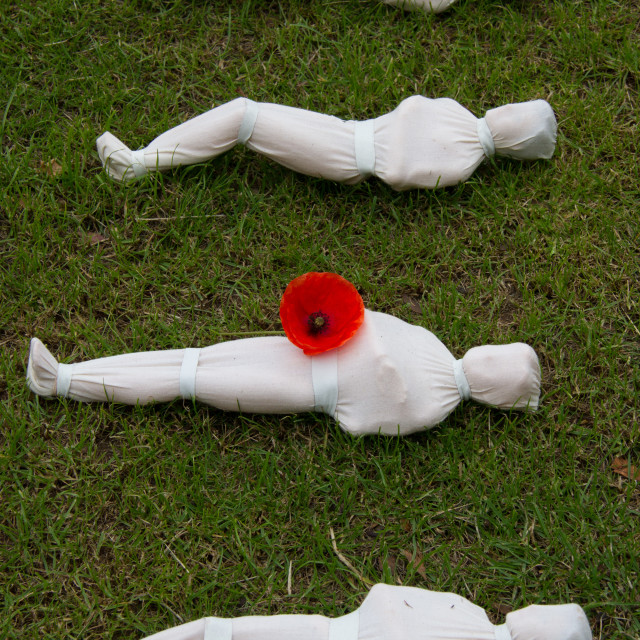 """Somme Shrouds"" stock image"