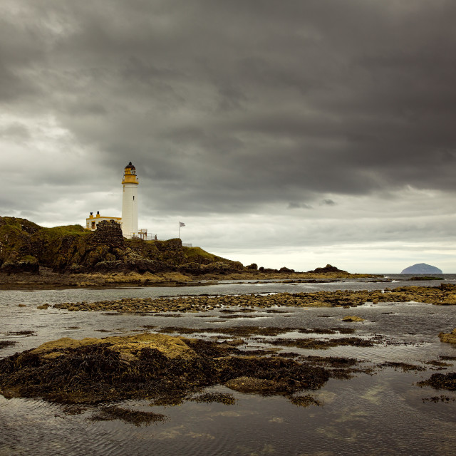 """Turnberry Lighthouse"" stock image"