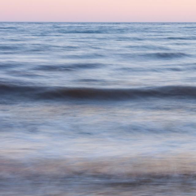 """Silky SeaScape"" stock image"