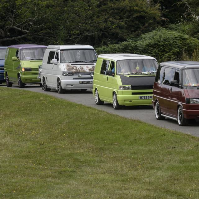 """""""VW camper van show 2"""" stock image"""