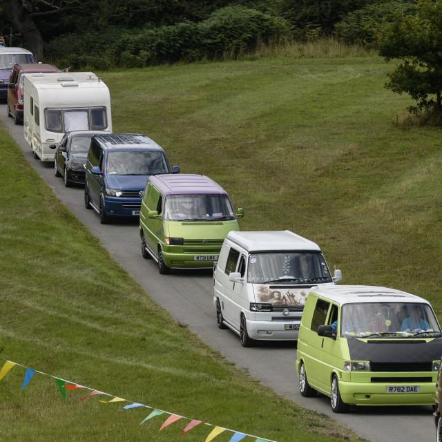 """""""VW camper van show 4"""" stock image"""
