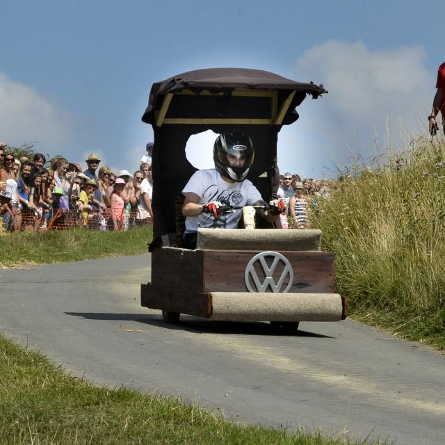 """""""VW wacky races 1"""" stock image"""