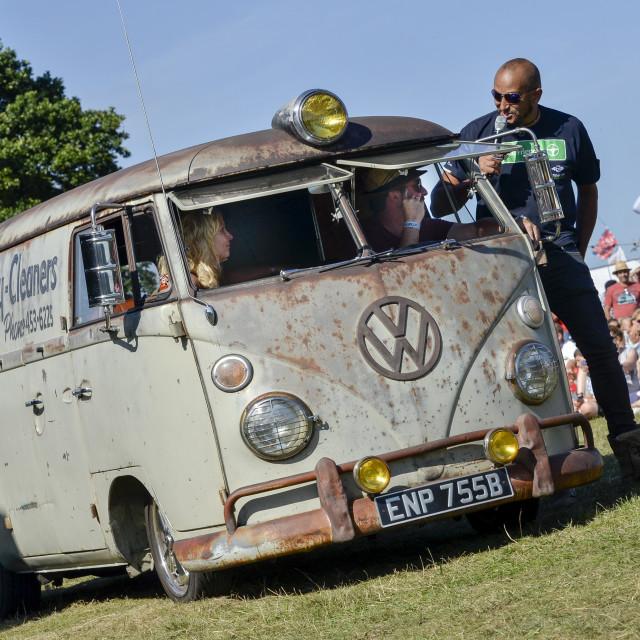 """""""VW camper van show 1"""" stock image"""