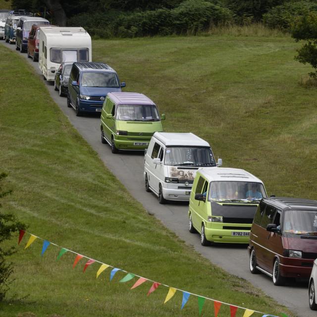 """""""VW camper van show 3"""" stock image"""
