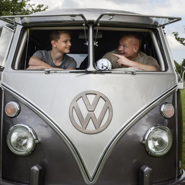 """""""VW camper van show 8"""" stock image"""