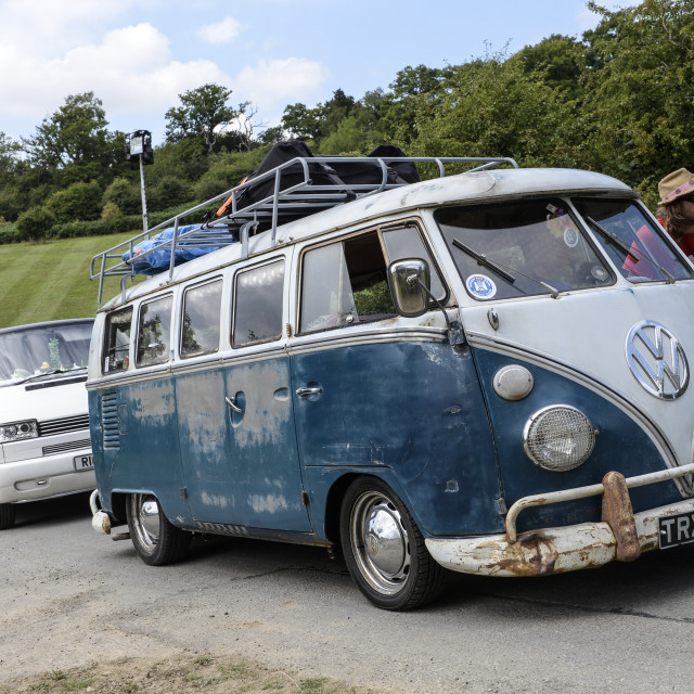 """""""VW camper van show 6"""" stock image"""