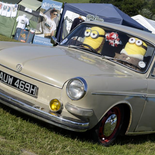 """""""VW camper van show 10"""" stock image"""