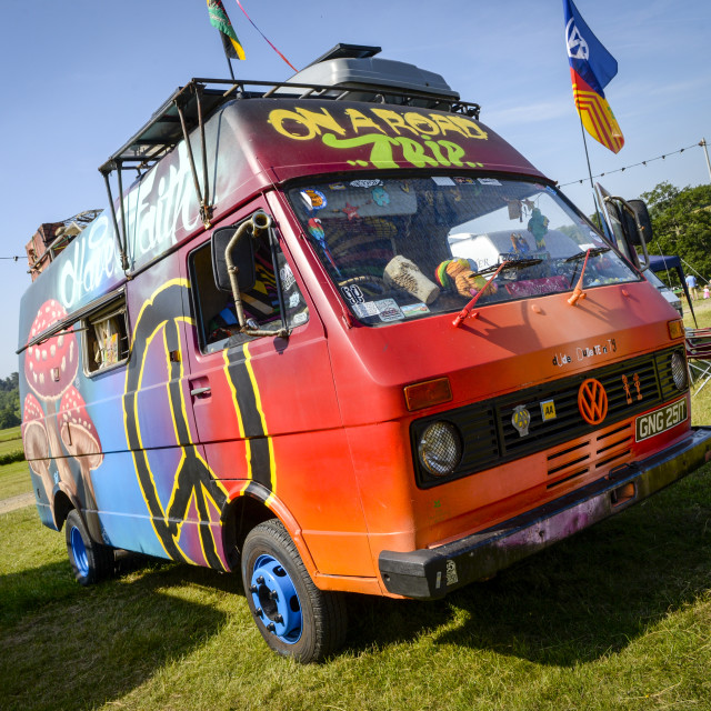 """""""VW camper van show 11"""" stock image"""