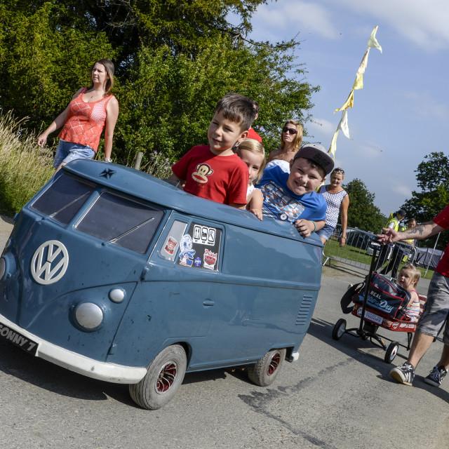 """""""VW camper van show 14"""" stock image"""