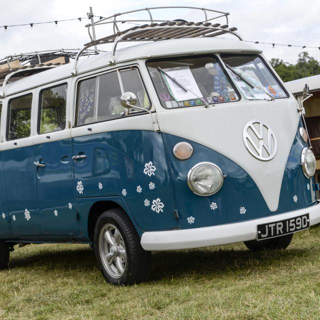 """""""VW camper van show 17"""" stock image"""