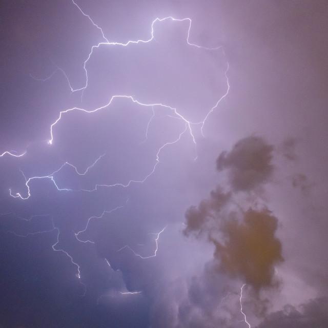 """thunderbolts"" stock image"