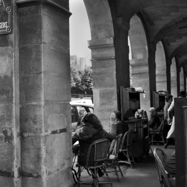 """Marais, Paris"" stock image"