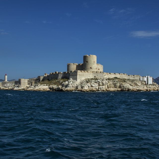 """Castle D'If , Marseille"" stock image"