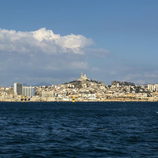 """The Marseille Skyline"" stock image"