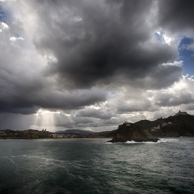 """Storm clouds"" stock image"