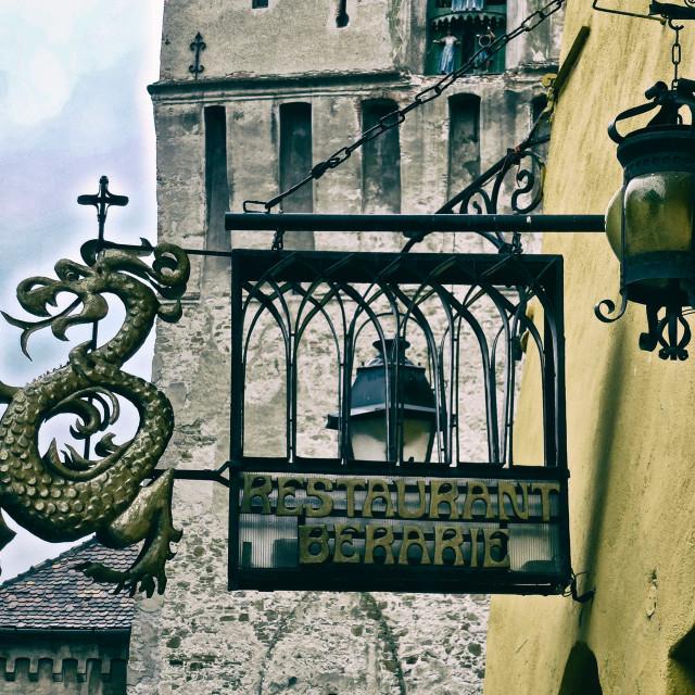 """Dracula's House"" stock image"