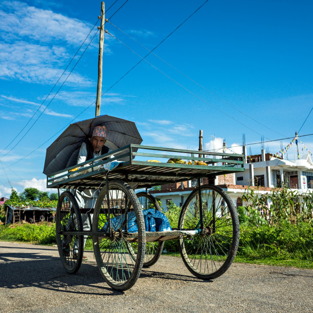 """Salesman's Cart"" stock image"