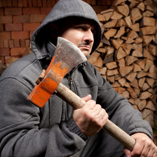 """Lumberjack"" stock image"