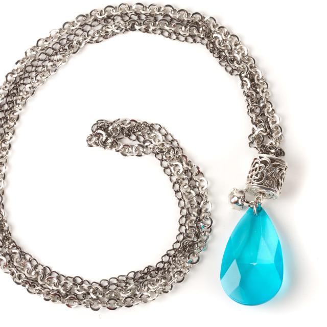"""Handmade necklace"" stock image"